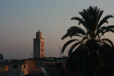 Morgens in Marrakesh
